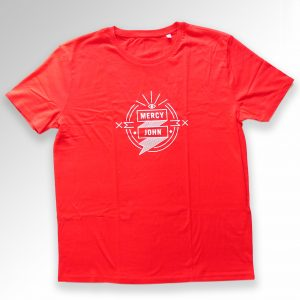 Mercy John T-shirt men red