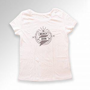Mercy John t-shirt women white