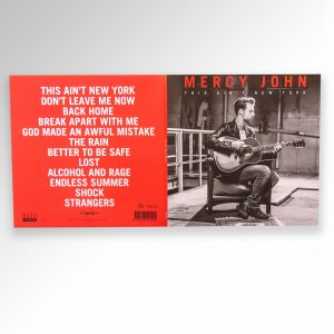 LP Mercy John – This Ain't New York front and back